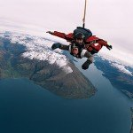 sky diving in Quuenstown Nuova Zelanda – sport estremi