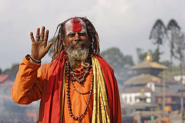 In avvicinamento a Kathmandu