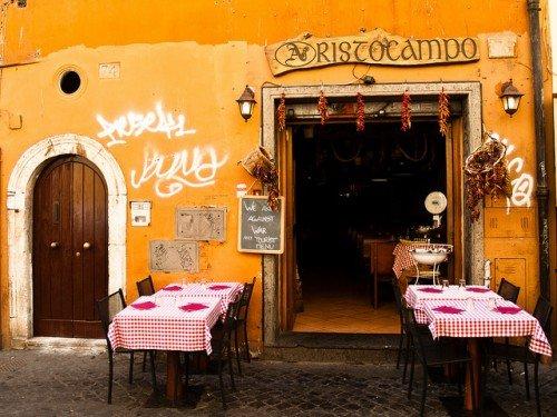 Roma osteria e trattoria dove mangiare bene spendendo poco for Locali commerciali roma centro