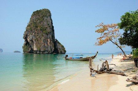Spiaggia Railey Thailandia