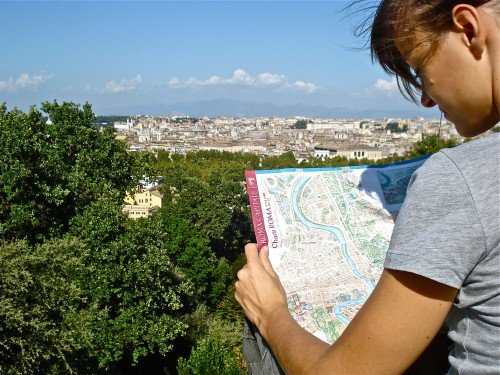 foto panoramica roma