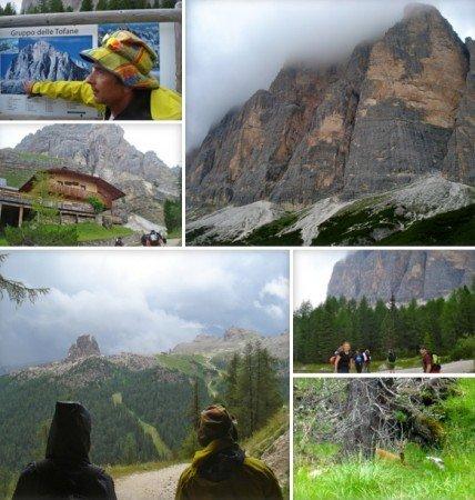 Cortina d'Ampezzo trekking e sentieri