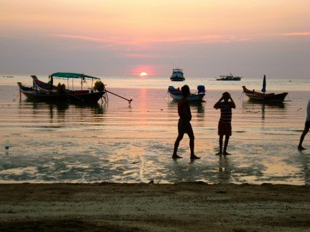 viaggio nelle isole della Tailandia