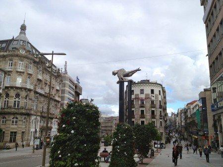 Viaggio a Vigo, Spagna