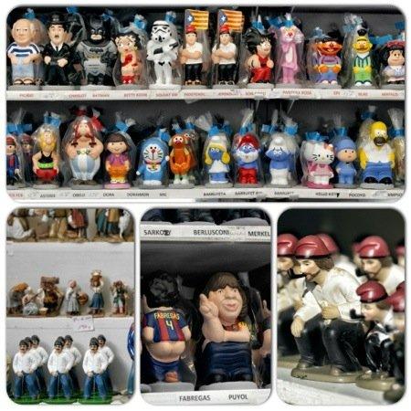Mercatini di Natale a Barcellona - insoliti souvenir