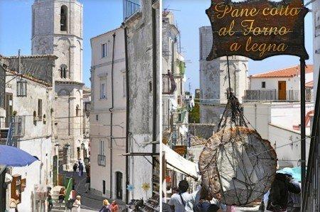 Monte Sant'Angelo centro storico - Puglia