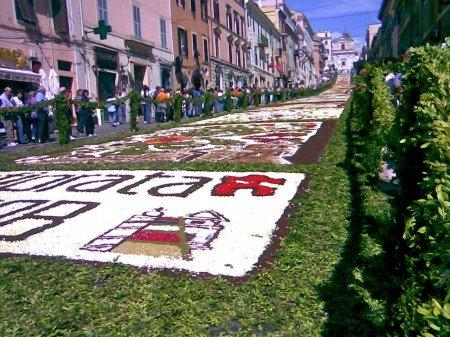 Infiorata Genzano, Castelli Romani