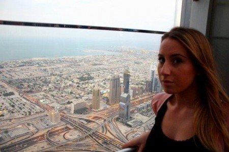 Dubai vista panoramica