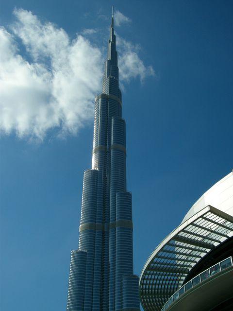 Burj Khalifa, Dubai, il grattacielo più alto al mondo