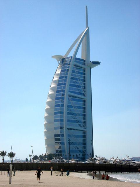Burj Al Arab, Dubai albergo di lusso