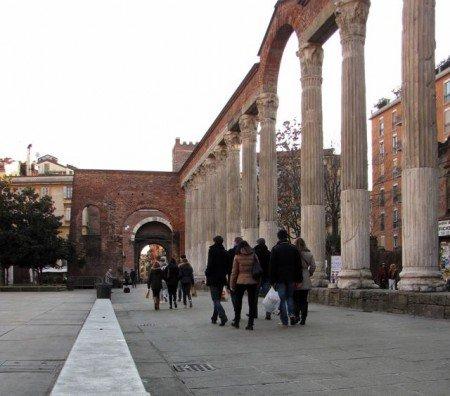 San Lorenzo quartieri di Milano