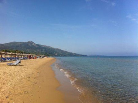 zakynthos (zante) isole grecia - banana beach spiaggia