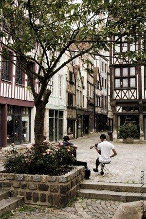 Rouen, Normandia, Francia