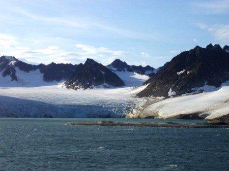 isole Svalbard nel Mar Glaciale Artico