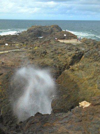 Australia Blowhole Point, Kiama
