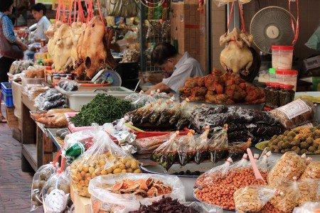 Mercati di Bangkok, Thailandia