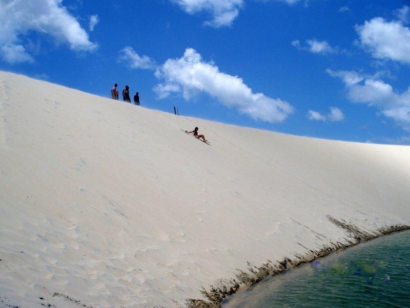 sandboarding in brasile