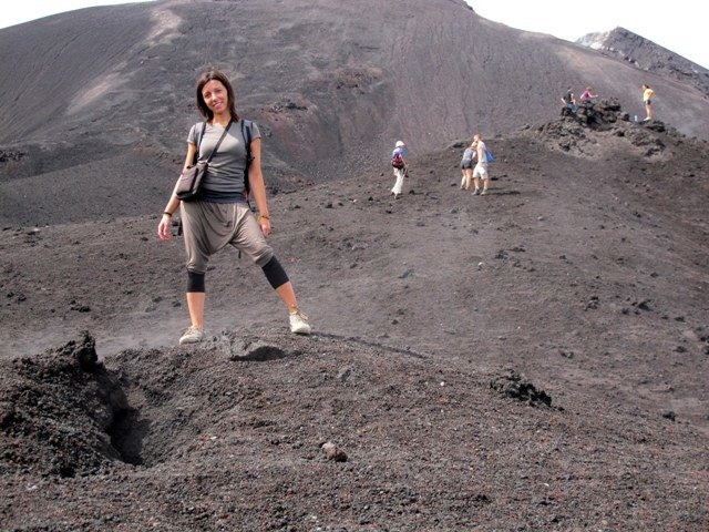 salita vulcano guatemala