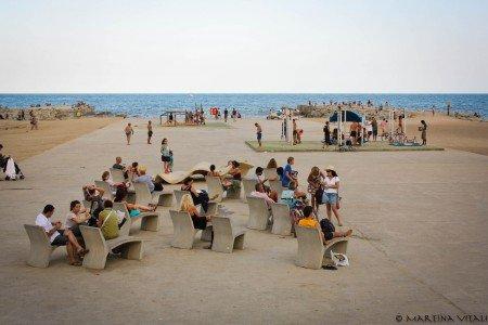 Barceloneta spiagge Barcellona