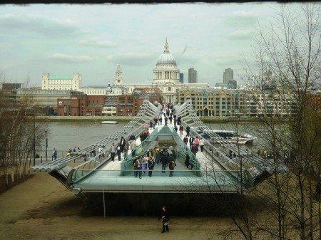 Millenium Bridge Londra