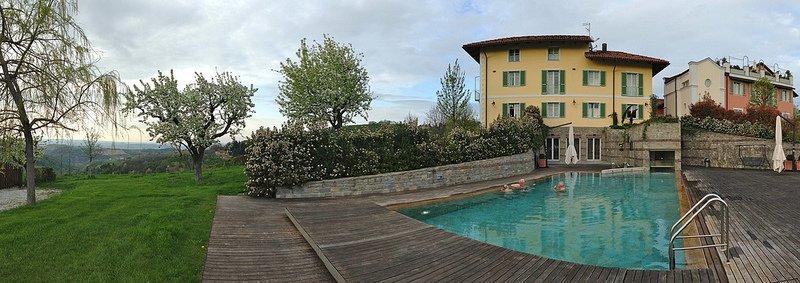 villa d'amelia, langhe