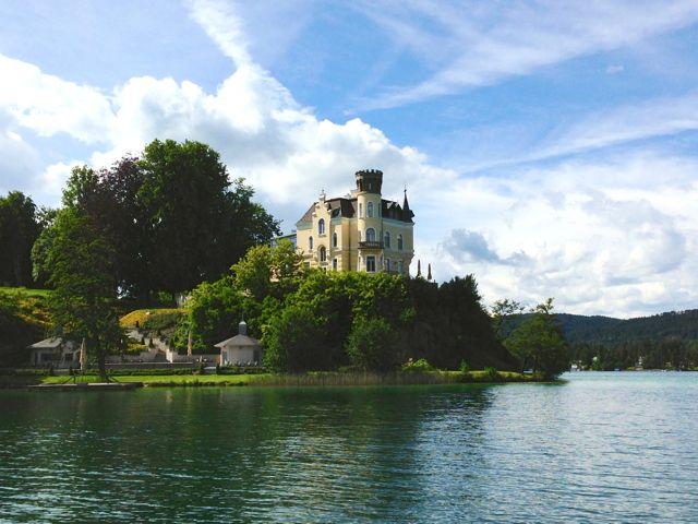 Lago di Worthersee Carinzia Velden