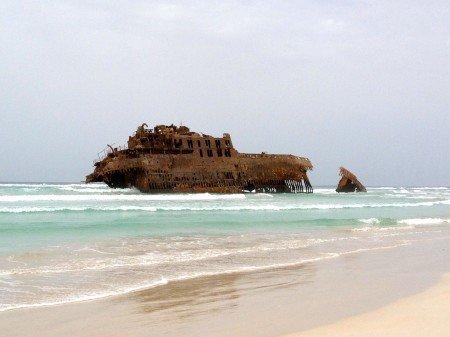 relitto della nave Santa Maria, Capo Verde