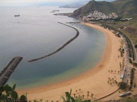 Playa de las teresitas, spiagge di Tenerife