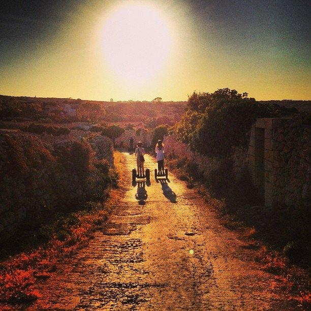 malta itinerari con il segway