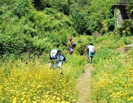 trekking nei sentieri