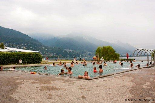 Lido di Locarno, piscine e terme svizzera