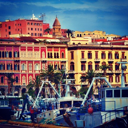 Cagliari Porto Quartiere Marina