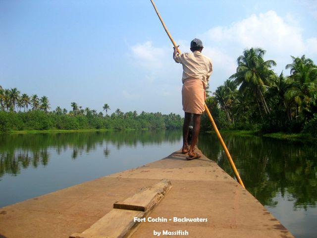 FortCochin,Backwaters, India