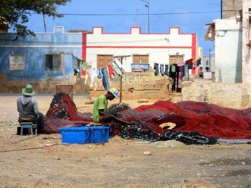 Capo Verde Pescatori a Palmeira