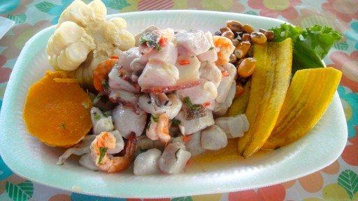 ceviche, piatto tipico perù