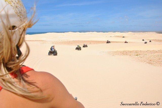 Santa Monica escursione in quad, Capo Verde