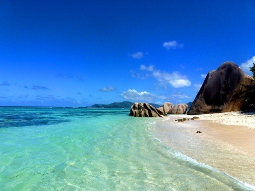 la digue Anse de Source Argent 06