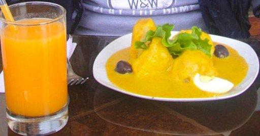 ocopa piatto tipico perù