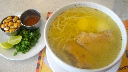 zuppa piatto tipico perù