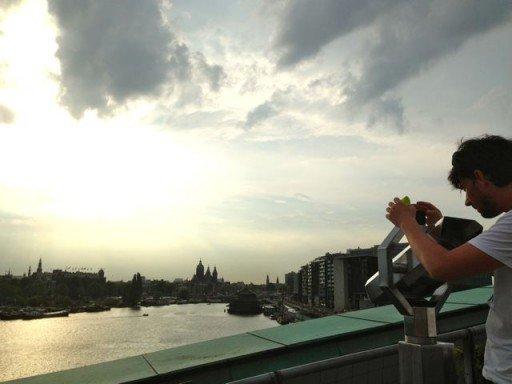 Amsterdam terrazza panoramica