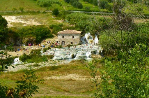 Terme di Saturnia, Cascata del Mulino