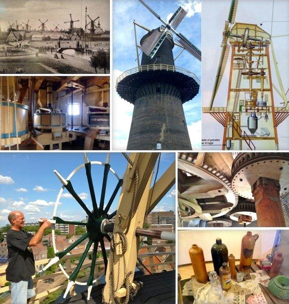I mulini a vento in olanda i pi grandi a schiedam blog for Grandi piani di una casa da ranch di storia