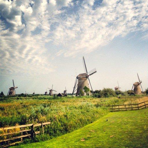 I mulini di Kinderdijk Olanda