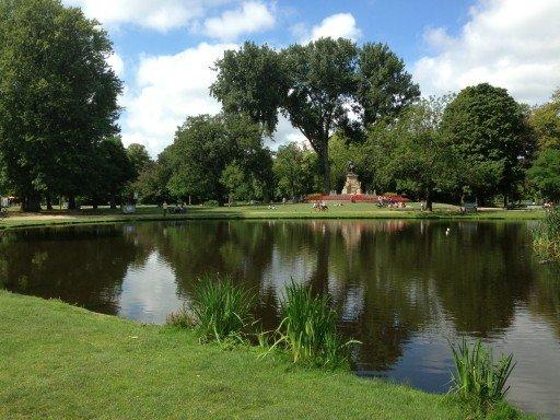 Vondelpark parco Amsterdam