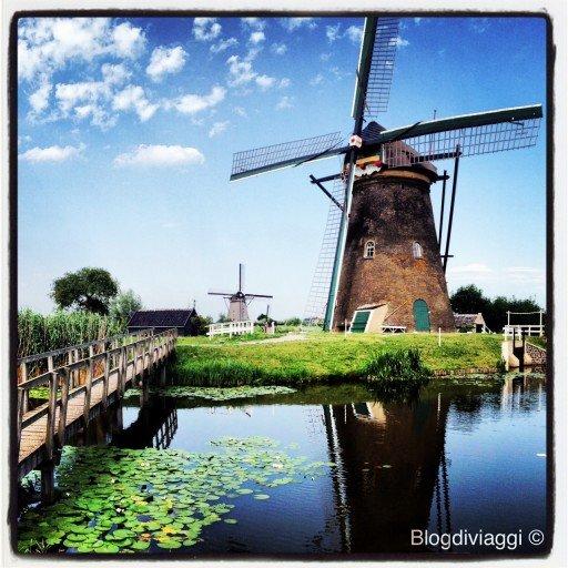 mulini di Kinderdijk, Olanda