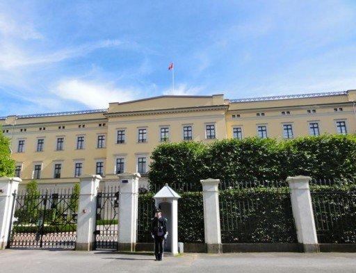 Oslo Palazzo Reale