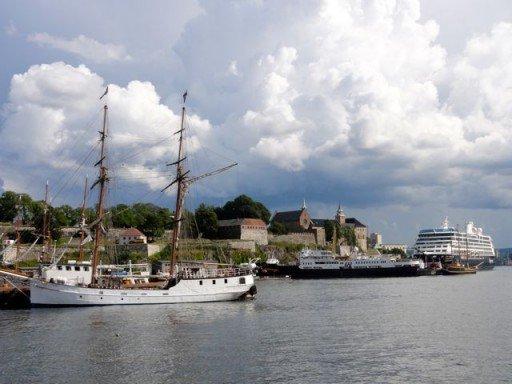 porto e fortezza di Oslo