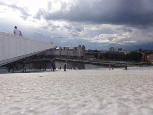 tetto opera house oslo