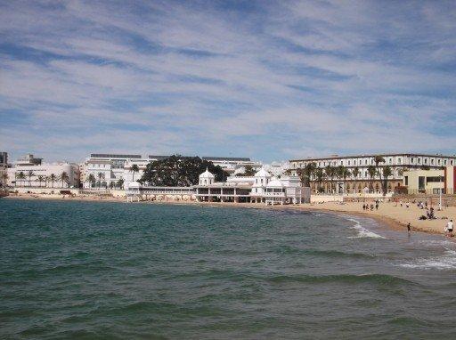 Cadice - spiaggia La Caleta