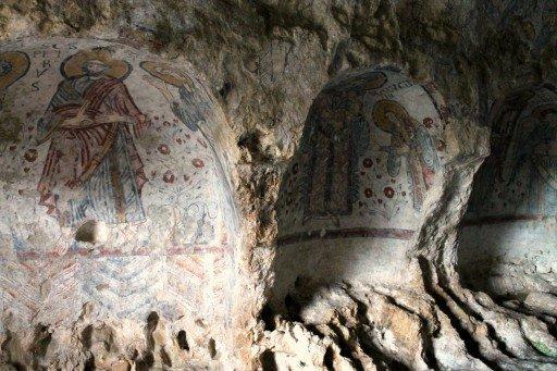Cripta del Peccato Originale, Matera